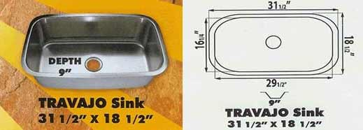 sink kitchen travajo 31 18