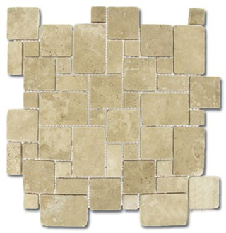 Durango Cream Mini Versailles Tumbled